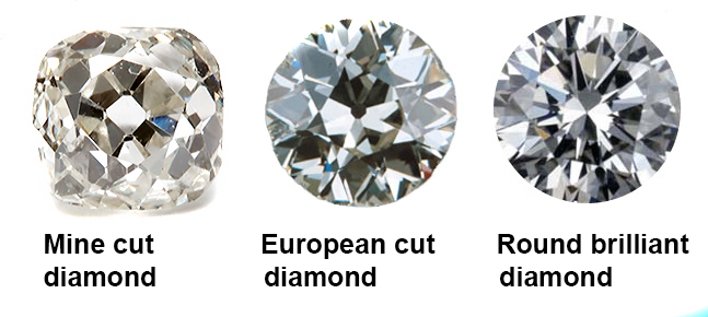 Antique cut diamonds Sydney